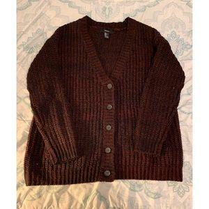 F21 knit cardigan 💋